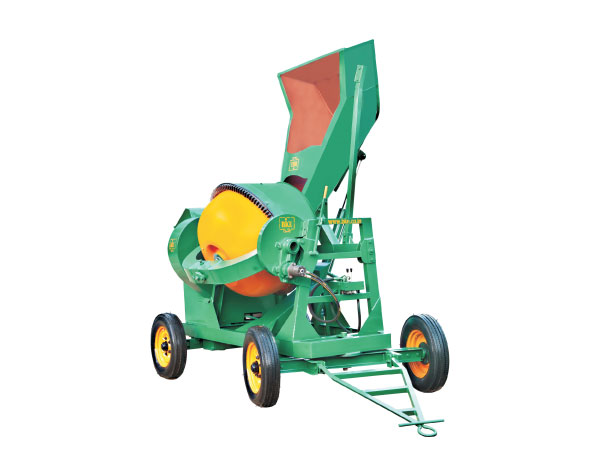 Concrete Mixer Machine With Hooper