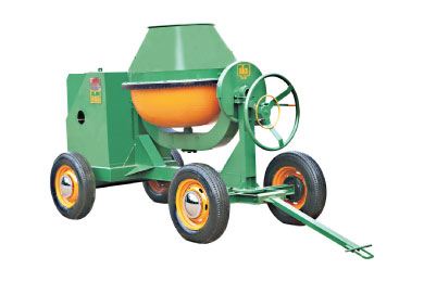 Concrete Mixer Machine Without Hooper